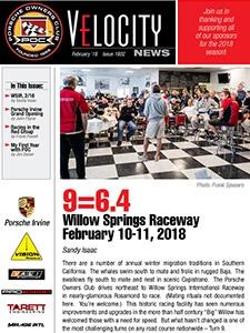 February 2018 Velocity